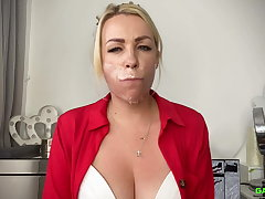 Penny Lee - Self Gag 2 FULL 2 Gag video ( GagAttack.org )