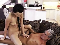 Milf fucks old bean What would you prefer - computer or