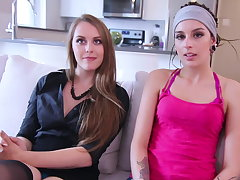 Nikki, 24ans, et Emilie, 18ans, n'attendaient que a