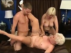 MMV FILMS Young and Old mature triple