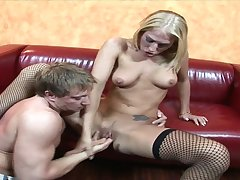 Hot fitness MILF In Stockings Dionne Crazy Hardcore Sex Pic