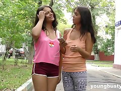 Endlessa Vitality gets her wet pussy filled all round a long dildo by her girl