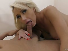 Ardent busty Christina Shine thirsts for some totally steamy doggy have sex