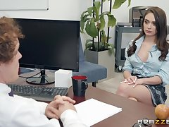 Ashly Anderson adores having approving sex with her horny boss in the designation