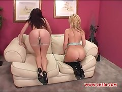 Threesome with Gianna Michaels and Sophie Dee is a fantasy of this guy