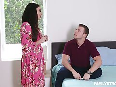 Stepson fucks smoking hot impact step old woman about big boobs Sheena Ryder