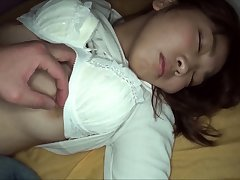 College teen cockriding pov in dorm with amateur