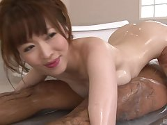 Soapy Japanese enjoys to eat one sticky penises readily obtainable the same time