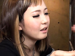 Hiraku Ukita Nasty Japanese Teen Enjoying A Small Cock